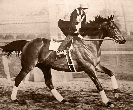 Seabiscuit with Rider