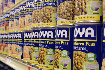 Goya beans in the international foods section