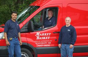 Refrigeration Crew in front of Truck