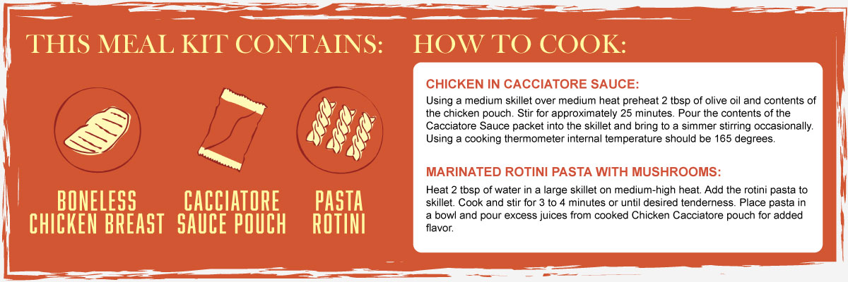 Chicken Cacciatore Instructions