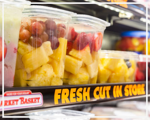 Market Basket Fresh Cut Fruits Veggies Market Basket