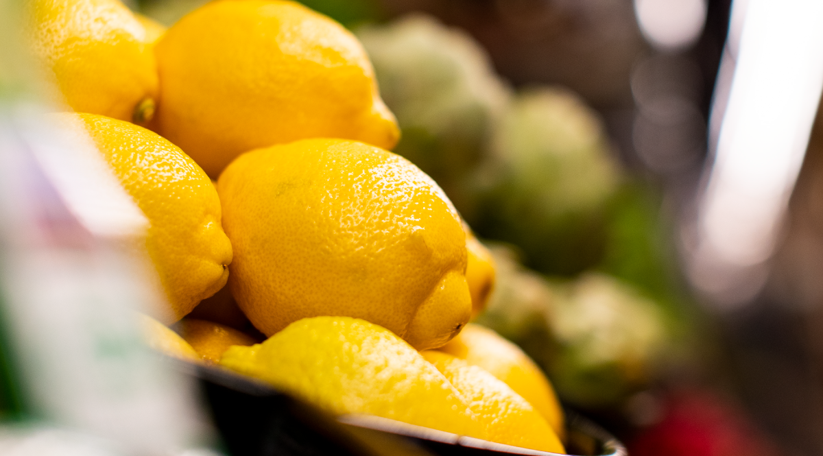 Lemons Close up