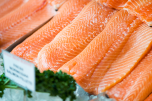 Salmon Fillets available in Seafood department.